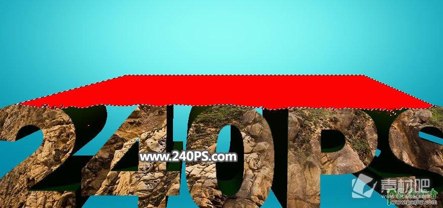 PS立体字设计教程:打造秋季主题风格的岩石立体