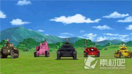 少女与战车:集结大家的战车道