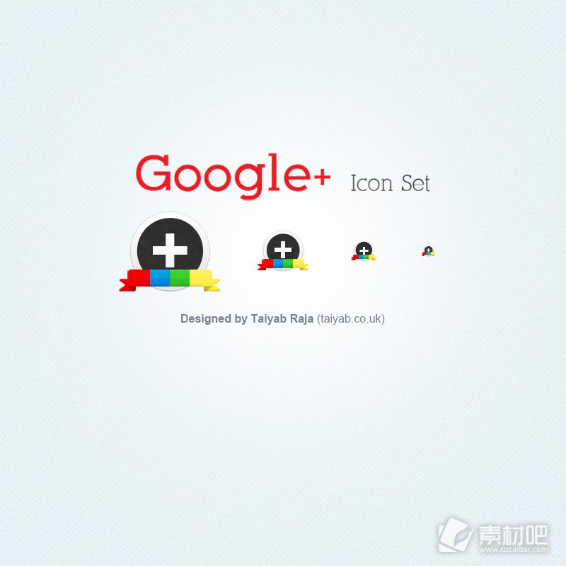 Taiyab Raja设计的谷歌图标PSD素材