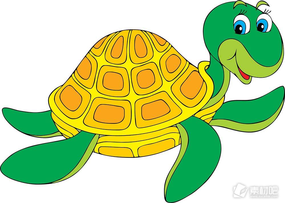 游泳的大海龟图片图片