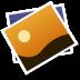 ios7苹果相册软件图标72px