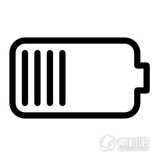 素材 苹果 图标/ios7苹果电池电量图标...