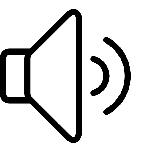 ios7苹果音量喇叭图标