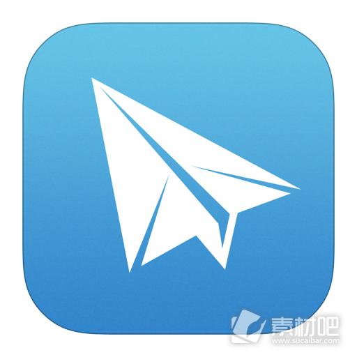 ios7纸飞机软件图标