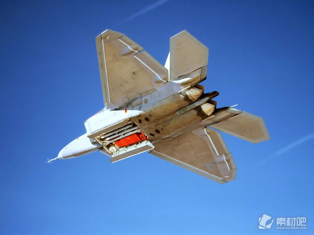 F22猛禽战斗机手机壁纸