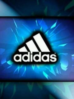 adidas著名运动品商标手机壁纸图片