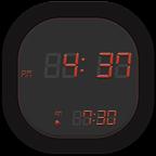 精美好看的电子时钟图标