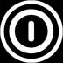 关闭按钮透明圆形图标72px