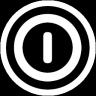 关闭按钮透明圆形图标96px