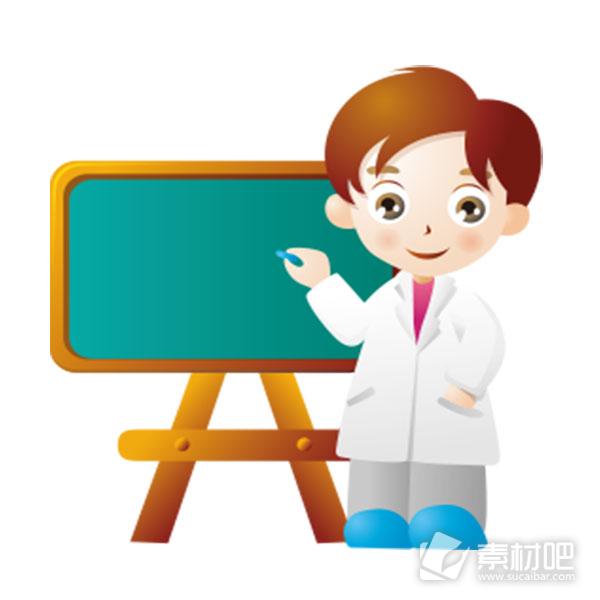 【new】老师讲课卡通图片