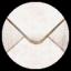 陈旧的邮箱信封图标64px