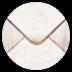 陈旧的邮箱信封图标72px
