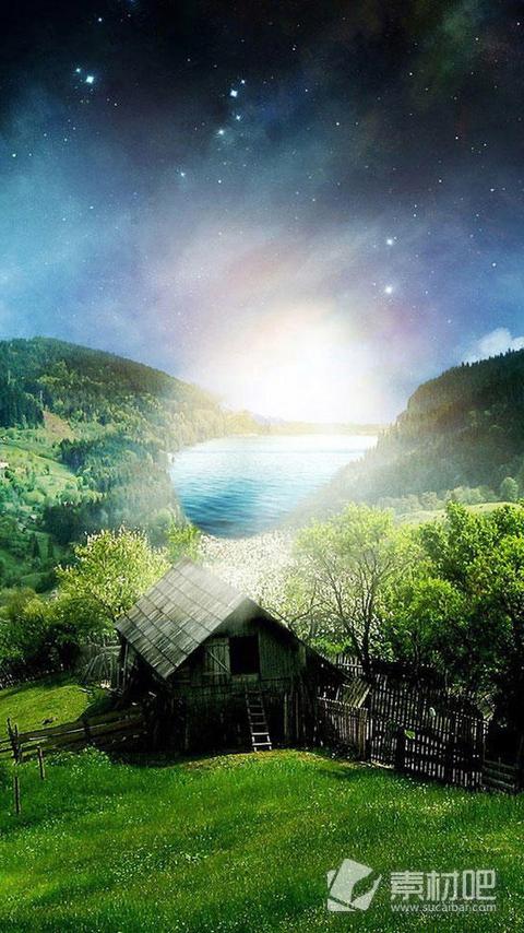 漂亮田园风光