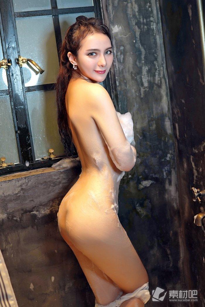 人体模特伊蓓Eva大尺度私房泡泡浴