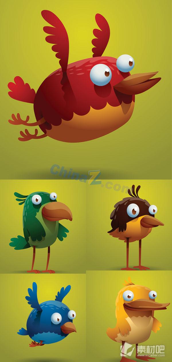 卡通有趣的小鸟bwin766net必赢亚洲