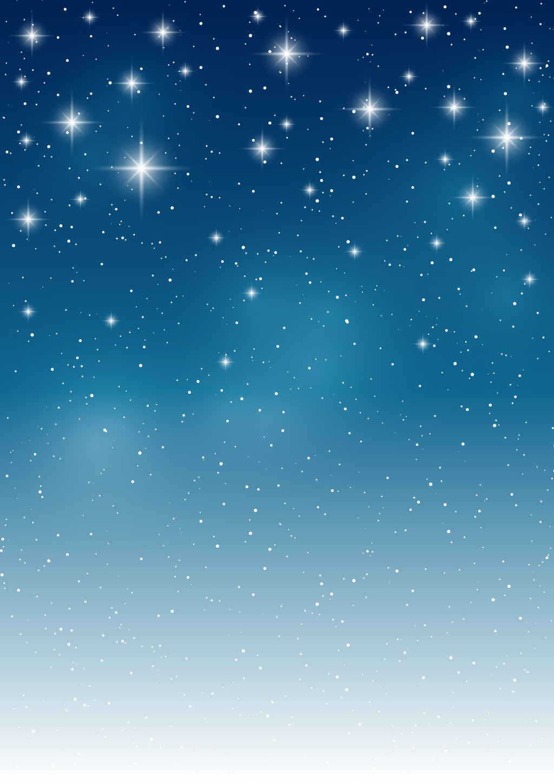 点点繁星星空背景素材