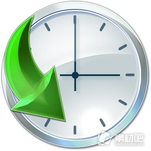 时间时钟仪表 ICO图标