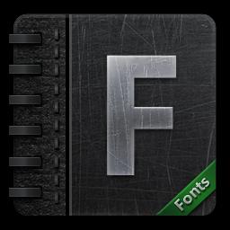 fontbook免费图标下载