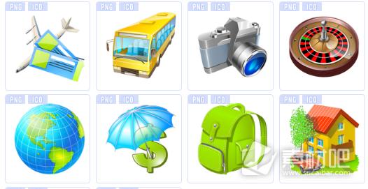 绿色旅行桌面图