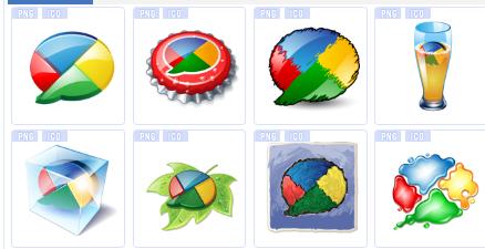 谷歌设计系列图标下载