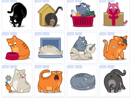 懒猫萌猫图标下载