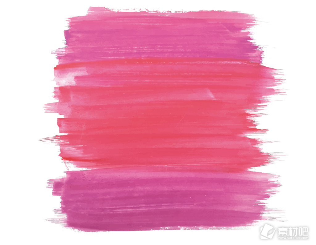 卡通粉色手绘涂鸦矢量元素
